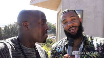"""NANDOLEAKS: The Game shoots video for """"All Eyez"""" in Malibu"""