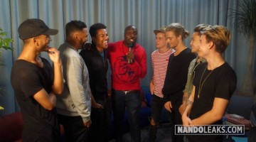 NANDOLEAKS: 3T GIVES DUTCH BOY BAND B-BRAVE TIPS ON BEING SUCCESSFUL