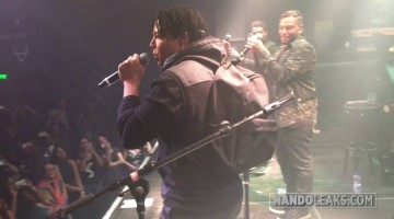 NANDOLEAKS: 3T PERFORMING 'ANYTHING' IN AMSTERDAM 2016