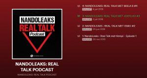FERNANDO HALMAN lanceert nieuwe podcast via iTunes en Spotify ! Het gaat om de serie REAL TALK.